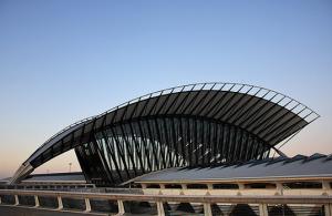 Gare Lyon-Saint Exupéry - Santiago Calatrava